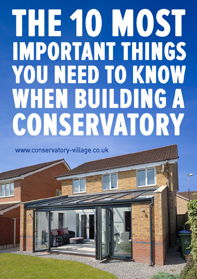 Conservatory Build Guide