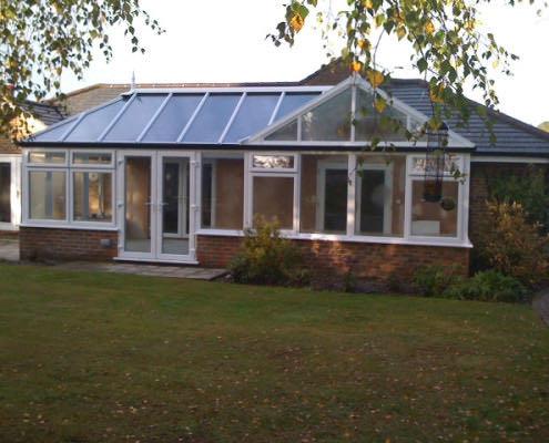 P shaped conservatory southampton