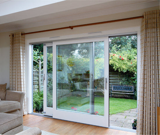 Patio doors southampton sliding patio doors hampshire for Patio doors with side windows