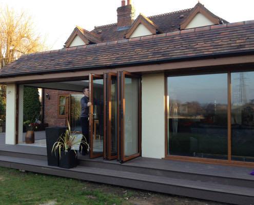 Aluminium Bi-Fold Doors Romsey Hampshire