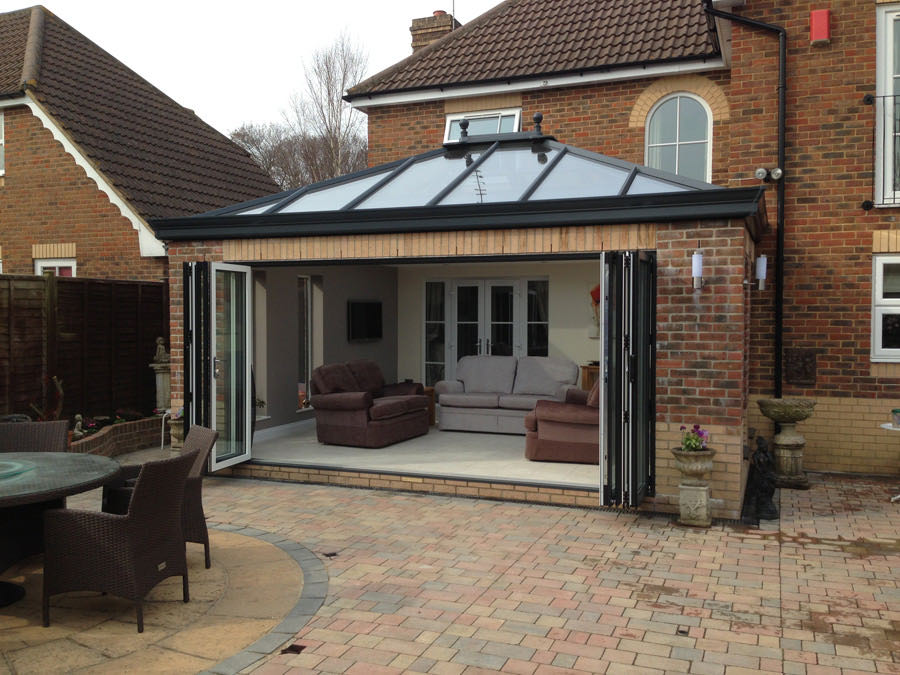 Romsey glass extensions