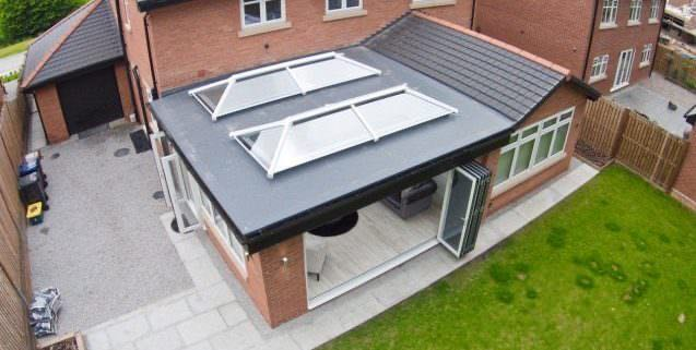 romsey conservatory roofs