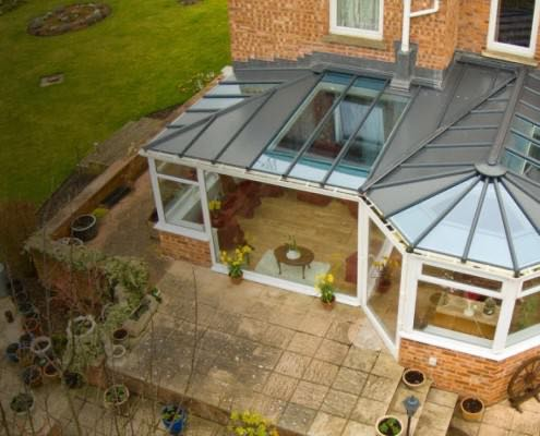 Glass Conservatory Roofs Romsey