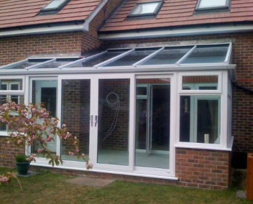 Small Lean To Conservatory Dorset