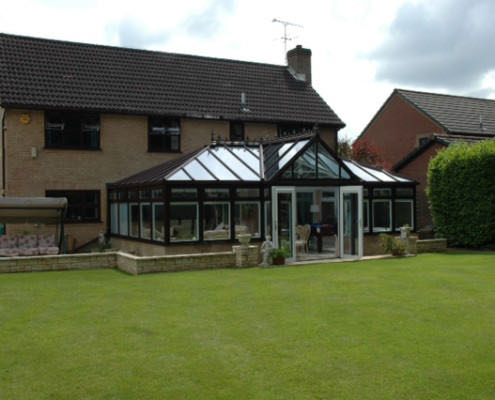 large span conservatories romsey