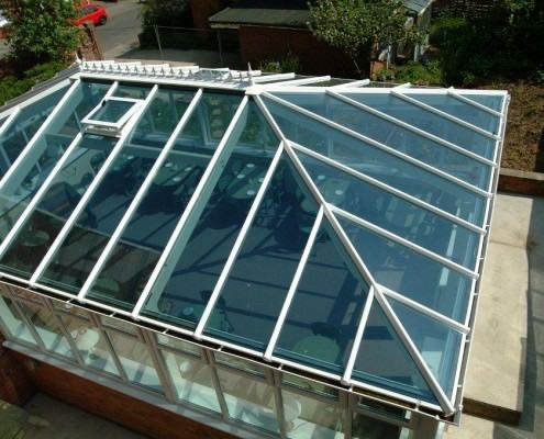 Glass Roof Extension Romsey
