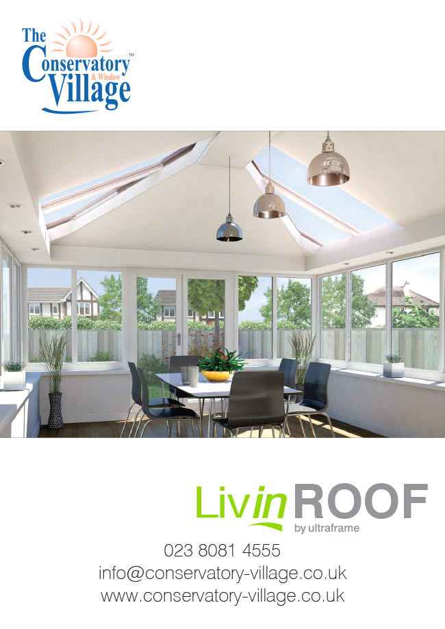 Livin Roof Conservatory Brochure