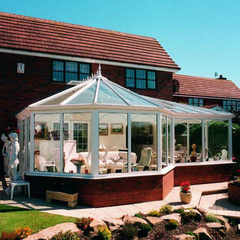 P-Shapedt Shaped Conservatories