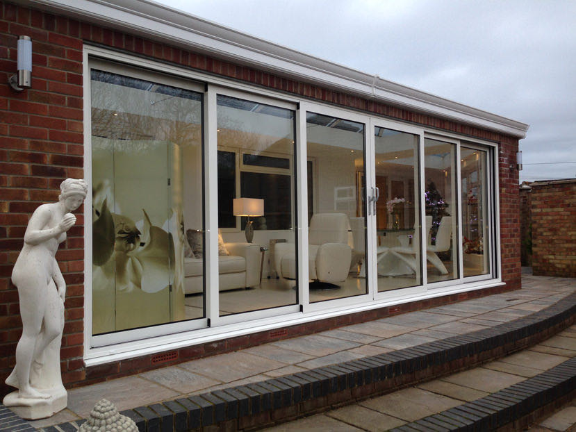 modern upvc conservatories
