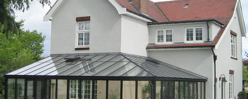 L-Shape Conservatory Hampshire