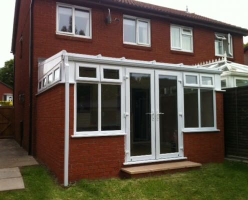 Small Lean To Conservatory Hampshire