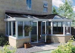 P Shape uPVC Conservatory Bournemouth