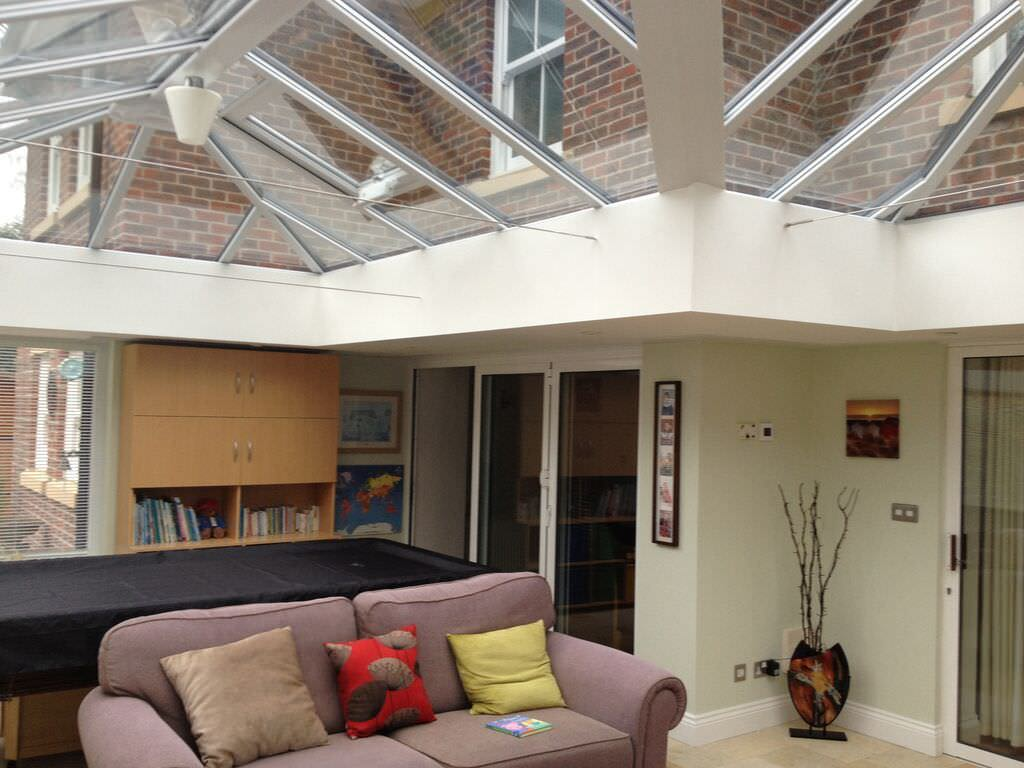 conservatory roofs romsey