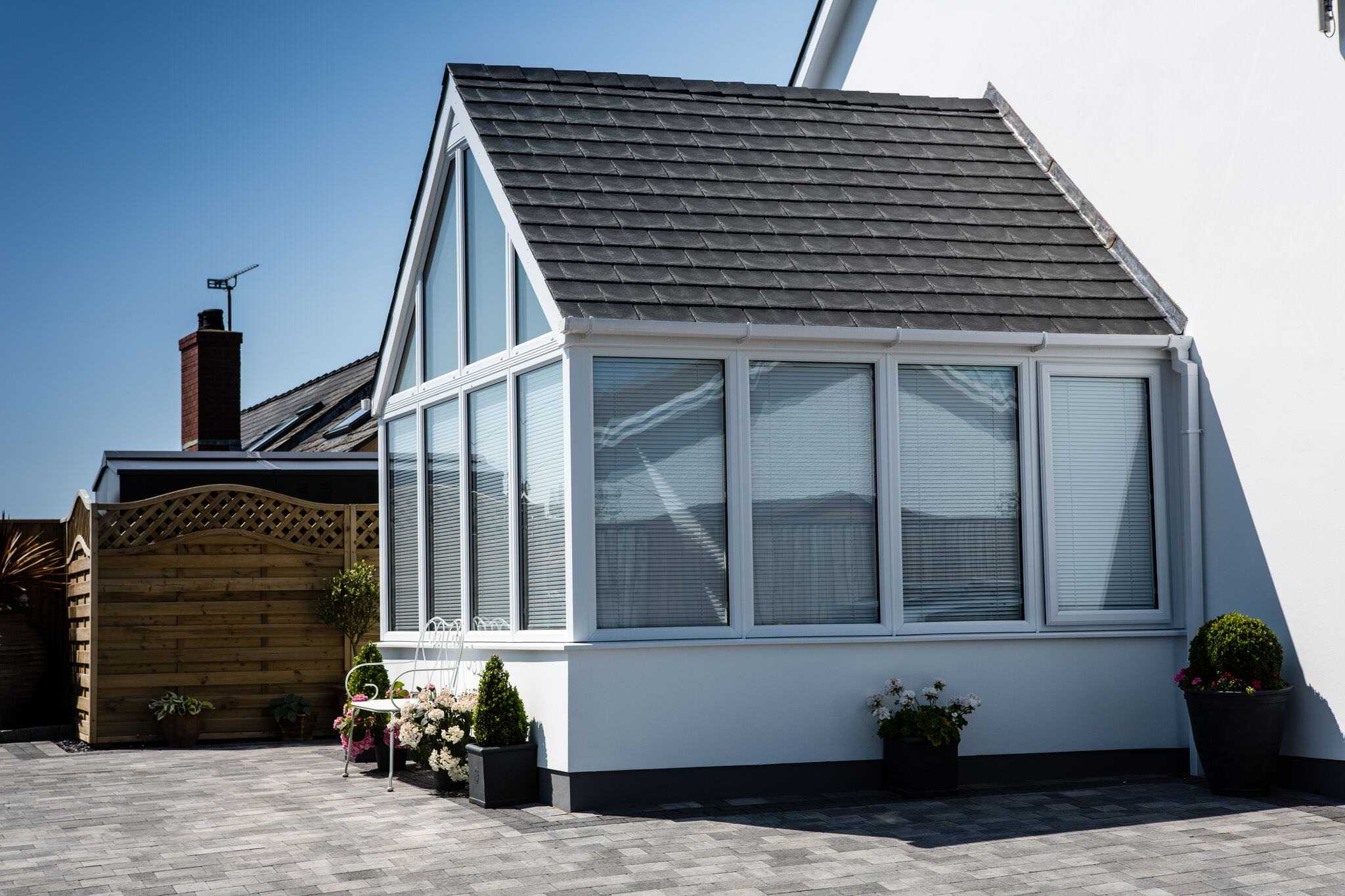 tiled conservatory roofs hampshire