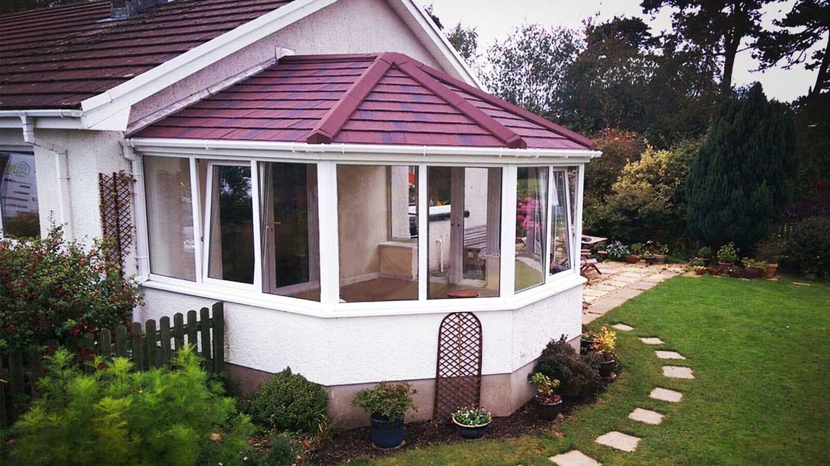 romsey conservatory roof