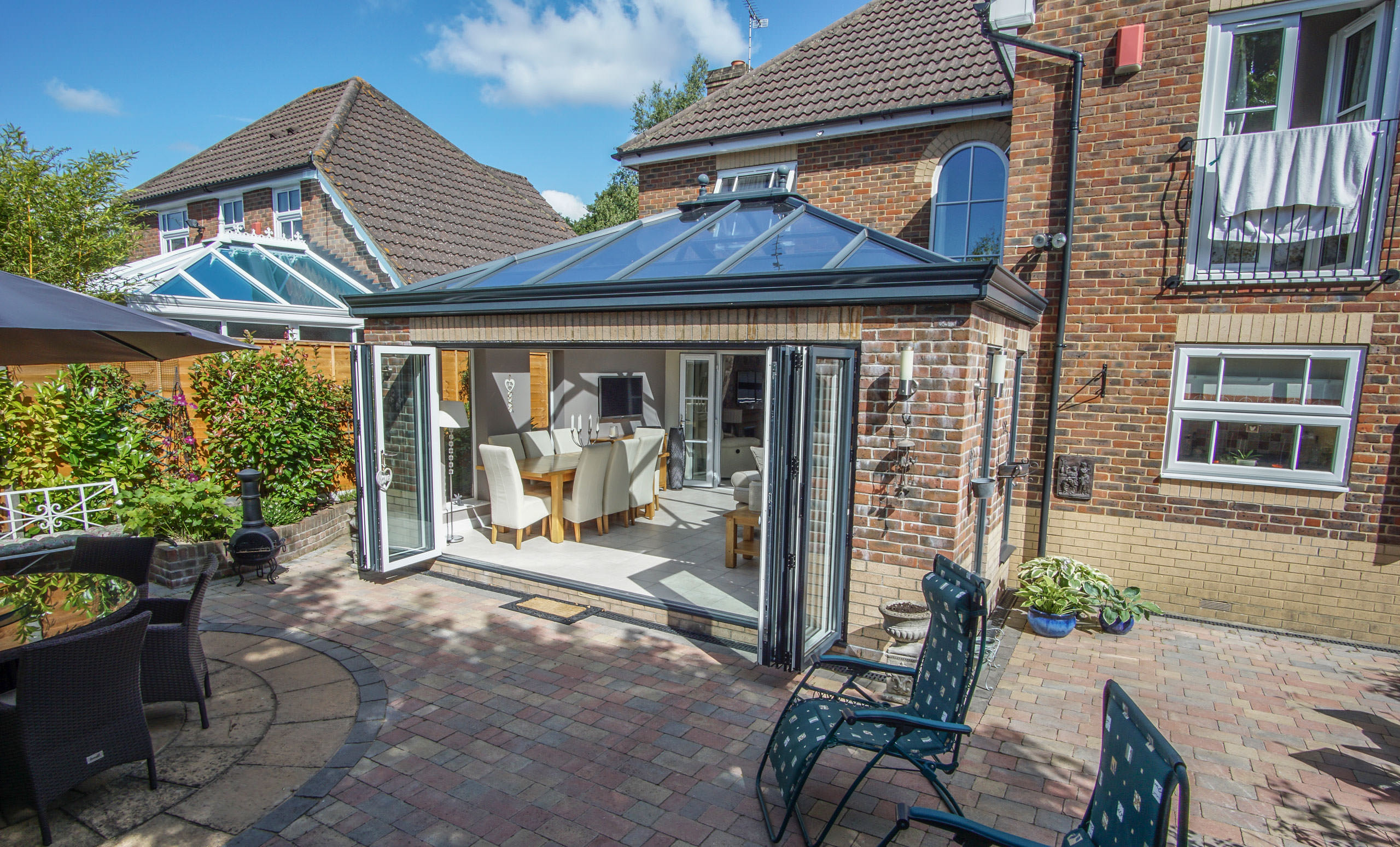 types of replacement conservatory roof